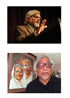 Arun-Gandhi-Left